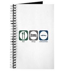 Eat Sleep Limousines Journal