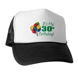 30th birthday hats Trucker Hats