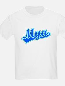 Retro Mya (Blue) T-Shirt