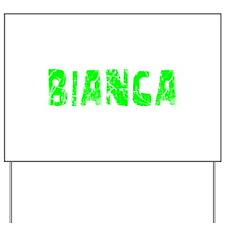Bianca Faded (Green) Yard Sign