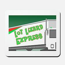 Lot Lizard Trucking Express Mousepad