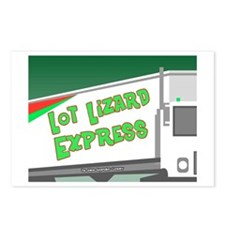 Lot Lizard Trucking Express Postcards (Package of