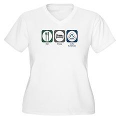 Eat Sleep Life Sciences T-Shirt
