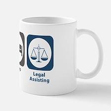 Eat Sleep Legal Assisting Mug
