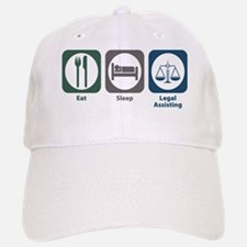 Eat Sleep Legal Assisting Baseball Baseball Cap