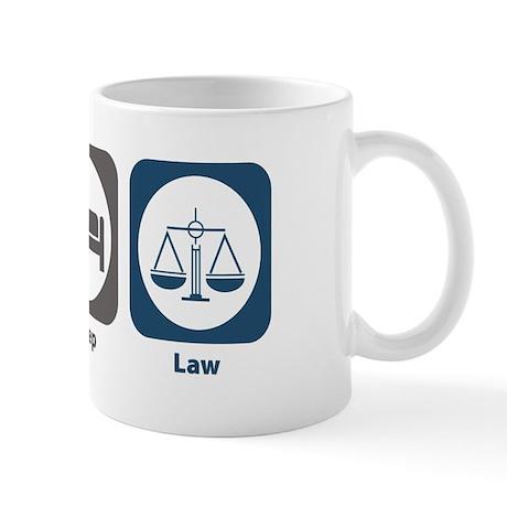 Eat Sleep Law Mug