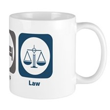 Eat Sleep Law Small Mug