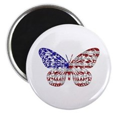 American Butterfly Magnet