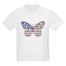 American Butterfly Kids T-Shirt