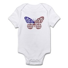 American Butterfly Infant Creeper