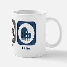 Eat Sleep Latin Small Small Mug