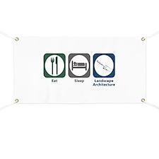 Eat Sleep Landscape Architecture Banner