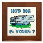 How big is yours? Framed Tile