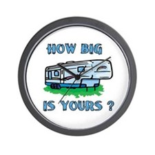 How big is yours? Wall Clock