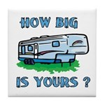 How big is yours? Tile Coaster
