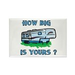 How big is yours? Rectangle Magnet