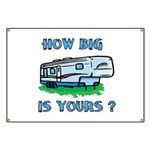 How big is yours? Banner