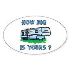 How big is yours? Oval Decal