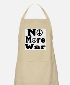 No More War BBQ Apron