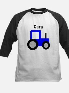 Cara - Blue Tractor Tee