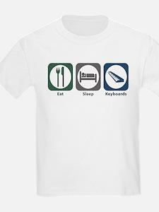 Eat Sleep Keyboards T-Shirt