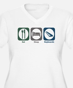 Eat Sleep Keyboards T-Shirt
