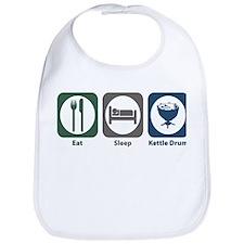 Eat Sleep Kettle Drum Bib