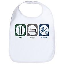 Eat Sleep Kendo Bib