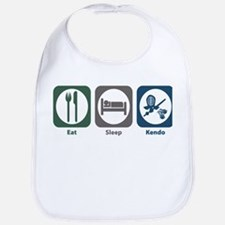 Eat Sleep Kendo Bib