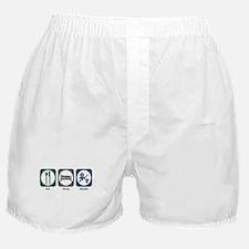 Eat Sleep Kendo Boxer Shorts