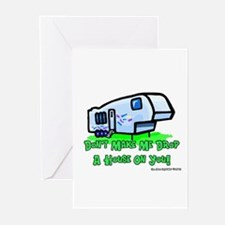 Drop A House On You Greeting Cards (Pk of 10)