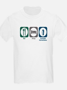 Eat Sleep Juvenile Corrections T-Shirt
