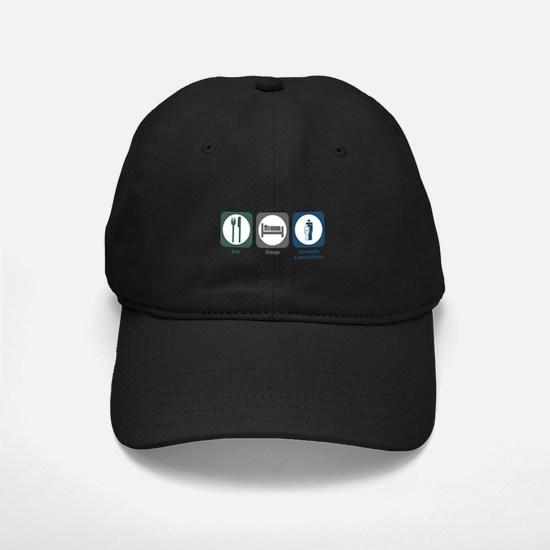 Eat Sleep Juvenile Corrections Baseball Hat