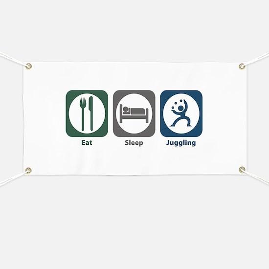 Eat Sleep Juggling Banner