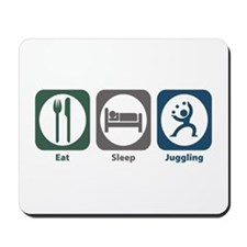 Eat Sleep Juggling Mousepad