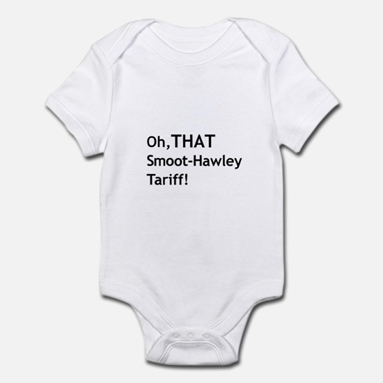 Smoot-Hawley Infant Bodysuit