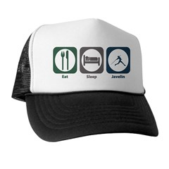Eat Sleep Javelin Trucker Hat