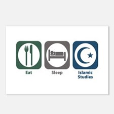 Eat Sleep Islamic Studies Postcards (Package of 8)