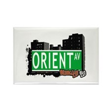 ORIENT AV, BROOKLYN, NYC Rectangle Magnet