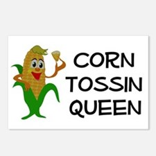 Corn Tossin Queen Postcards (Package of 8)