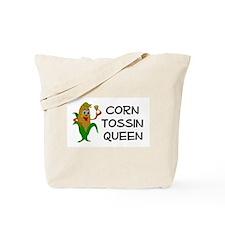 Corn Tossin Queen Tote Bag
