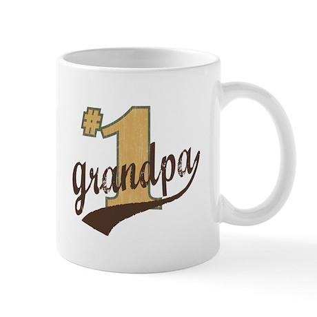 #1 Grandpa Mug