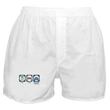 Eat Sleep Investment Banking Boxer Shorts