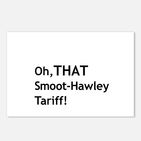Smoot-Hawley Postcards (Package of 8)
