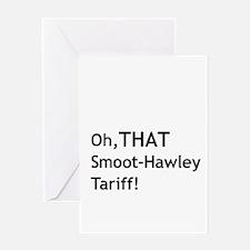 Smoot-Hawley Greeting Card