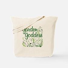 Garden Goddess Tote Bag