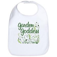 Garden Goddess Bib