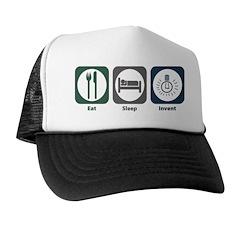 Eat Sleep Invent Trucker Hat