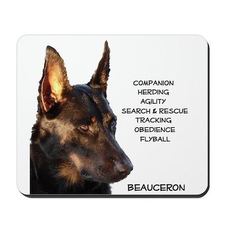 Versatile Beauceron Mousepad