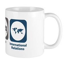Eat Sleep International Relations Mug